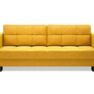 Sofa ONYX 3 osobowa, rozkładana. Cena 1754,10 zł. Fot. Agata