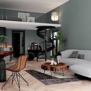 W mniejszych pomieszczeniach dobrze sprawdzą się farby białe. Uzyskana w ten sposób powierzchnia sprawia wrażenie czystości, podkreśla kolorystykę ścian i optycznie powiększa wnętrze. Fot. Śnieżka