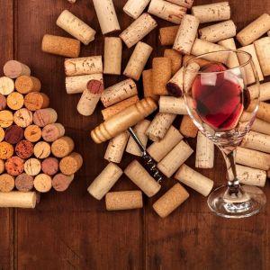 Dekoracja z korków do wina. Fot. Panul