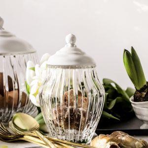 Kryształowe bomboniery dekoracyjne Blanca z porcelanowymi detalami. Od 350 zł, Huta Julia