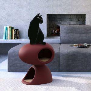 Cat Cave powstał w ramach joint venture pomiędzy Qeeboo i United Pets. Fot. QeeBoo / BM Housing