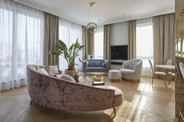 Rodzinny apartament na Wilanowie: piękne wnętrze!