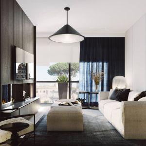 Jest to apartament przygotowany na sezonowe pobyty. Projekt i zdjęcia ZUP-a