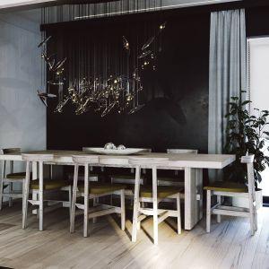 Design całego projektu opiera się na prostocie, eleganckich meblach skontrastowanych z prostym układem i formą wnętrza. Projekt i zdjęcia ZUP-a