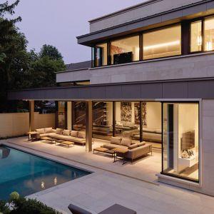 Projekt: Taylor Smyth Architects, projekt wnętrza: Cecconi Simone. Fot. Studio Shai Gil