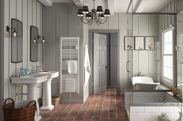 Grzejniki powinny nie tylko zapewnić komfortową temperatur w łazience. Powinny one również szybko przygotowaćpomieszczeniena kąpiel lub prysznic, a więc dogrzaćje i wysuszyć ręczniki.
