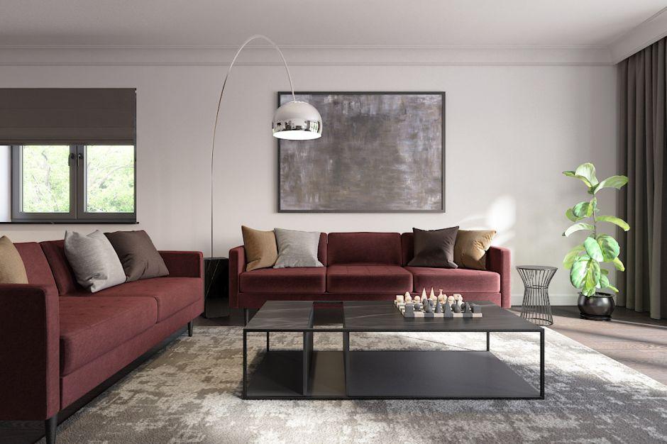 Projekt wnętrza domu 386 m2