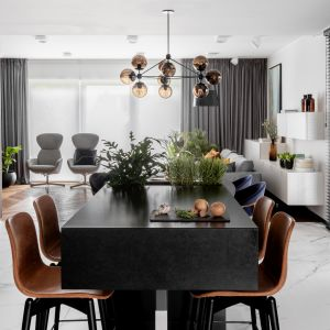 Modoso Interiors dostało wytyczne do stworzenia wnętrza, ponadczasowego, przytulnego i eleganckiego, ale bez efektu onieśmielenia. Realizacja Modoso Interiors Fot. Zajc, Raumplus
