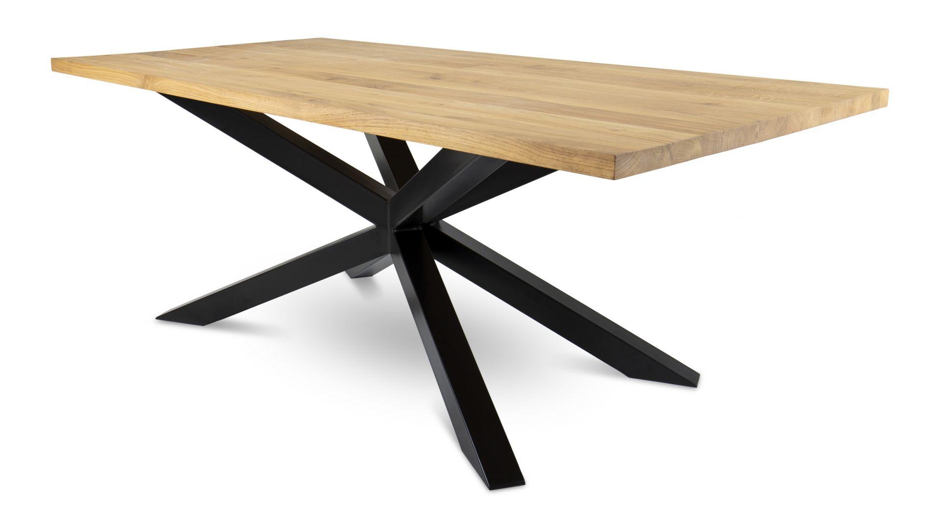 Stół pająk OakLoft o wymiarach 200x100 cm - 2. 990 zł. Do kupienia w sklepie DekoracjaDomu.pl