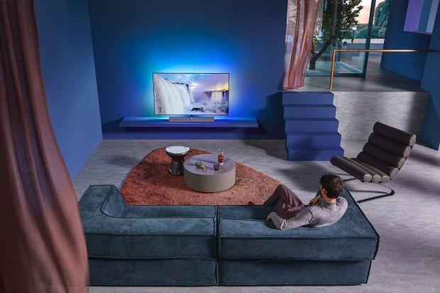Philips OLED+935 to zupełnie nowy model z absolutnie najwyższą jakością obrazu i nagłośnienia zapewniający wyjątkowe wrażenia audiowizualne.
