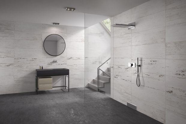 Jak wykończyć ściany w nowoczesnej łazience? Warto postawić na szare płytki ceramiczne, dzięki którym wnętrze będzie modne i ładne.<br /><br />