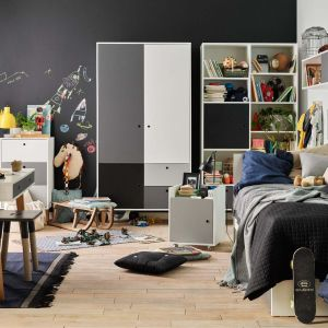 Ład w dziecięcym czy młodzieżowym pokoju powinien iść w parze z mobilnością. Fot. Concept Vox