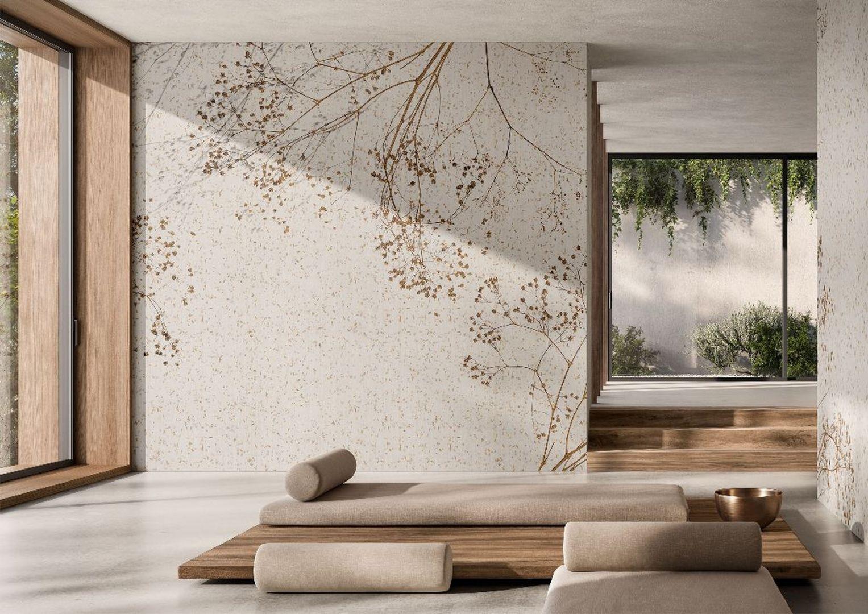 Nowe grafiki wielkoformatowe Glamora – Collection XI, dostępne w salonach wyposażenia wnętrz Dekorian Home, są wymagające. Na zdj. Temps