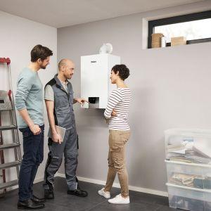 Większość renomowanych producentów urządzeń grzewczych, zaleca kontrolę serwisową kotłów raz do roku. Na zdjęciu: kocioł gazowy ecoTEC exclusive. Fot. Vaillant
