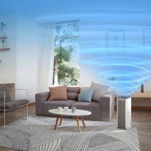 System obiegu powietrza 3D ze spiralnym wylotem usuwa zanieczyszczenia w pomieszczeniu o powierzchni 20 m² w czasie krótszym niż 6 minut. Nie oznacza to wcale, że kupienie takiego oczyszczacza wiąże się z koniecznością częstego wymieniania drogich filtrów.