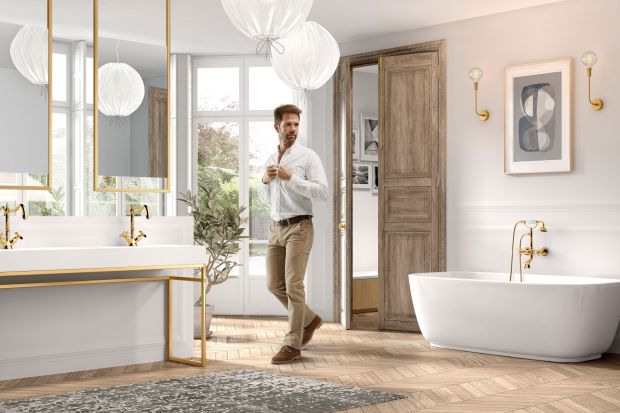 Ponadczasowy design, ale także elegancja i precyzja to przymioty armatury wpisującej się w aktualne trendy. Metaliczne wykończenia w modnej kolorystyce, czy też matowe czernie dodadzą szyku każdej łazience.