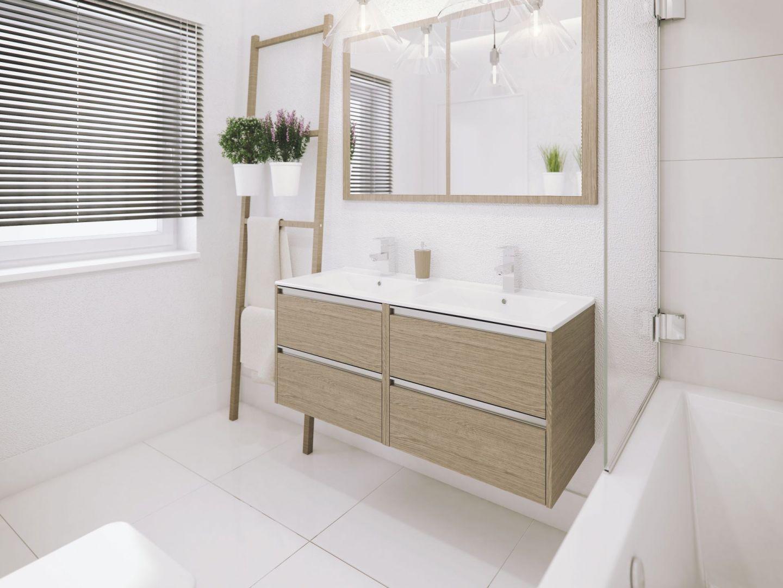 Ponadczasowa łazienka to taka, z której przyjemnie i łatwo się korzysta, wyposażona w sprzęty i elementy, które przetrwają próbę czasu. Na zdjęciu: meble z kolekcji Fonte. Fot. Defra