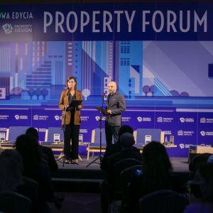 Małgorzata Burzec-Lewandowska, Robert Posytek, Redakcja Rynku Nieruchomości Grupy PTWP, Property Forum 2020