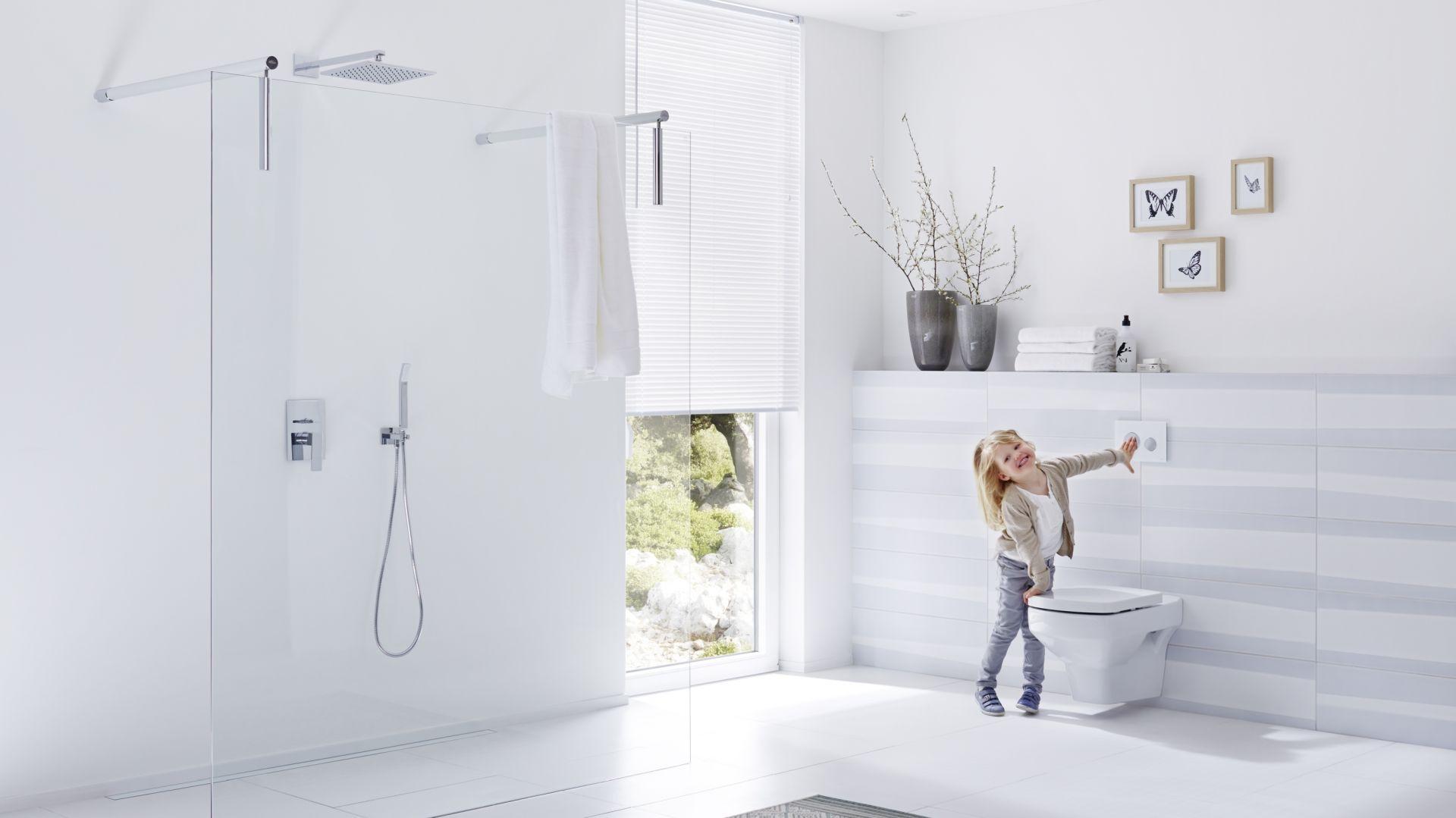 Mówiąc o łazience bliskiej użytkownikom mamy na myśli przede wszystkim pomieszczenie funkcjonalne. Fot. TECE