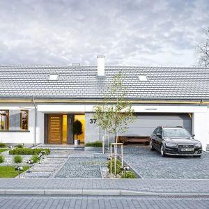 Budynek jest energooszczędny, ma prostą konstrukcję, będzie łatwy w budowie i tani w utrzymaniu. Projekt: arch. Michał Gąsiorowski. Fot. MG Projekt