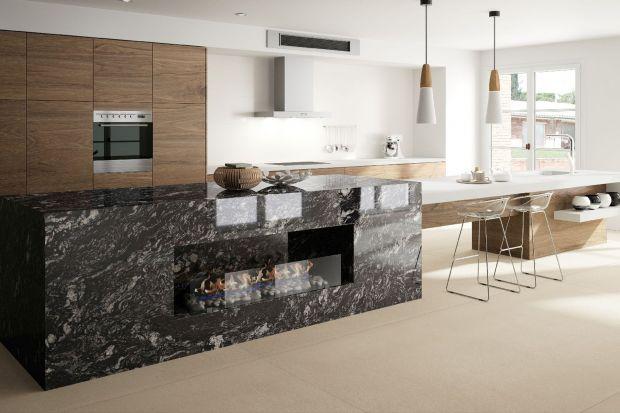 Modna kuchnia: postaw na kamień naturalny