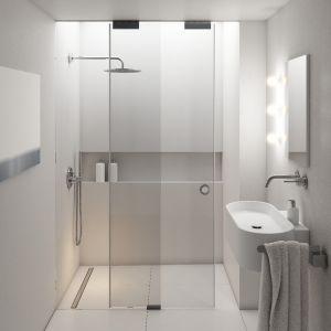 W ofertach producentów coraz częściej spotkać można takie rozwiązania, które dzięki innowacyjnej konstrukcji i przemyślanej strukturze montażu znacząco skracają czas remontu łazienki. Fot. Schedpol