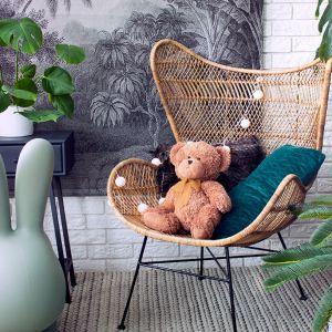 W modzie wciąż są naturalne rośliny oraz naturalne materiały, takie jak plecionki. Fot. HK Living