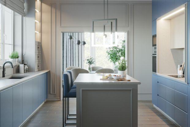 Ten stylowy dom pełen jest kolorów i światła. Inwestorzy i projektantka wnętrza, Agnieszka Rozmysłowicz z Viann Interior Design postawili na piękne i subtelne błękity. Zobaczcie ten projekt!