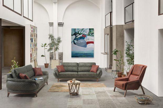 Obrazy abstrakcyjne: 10 pomysłów na piękną dekorację ścian w salonie