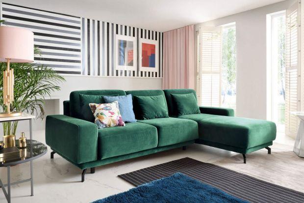 Czy kolorowa kanapa w salonie to dobry pomysł? Tak! Zobaczcie jak świetnie wyglądają kolorowe kanapy narożne.