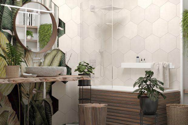 Botaniczna łazienka doskonale wpisuje się w aktualne trendy, jest przy tym funkcjonalna i pełna dobrych rozwiązań. Zobaczcie ciekawy projekt z Poznania.