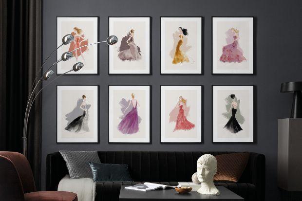 Lars Wallin toczołowy szwedzki projektant mody, znany zze swoich kreacji w stylu Couture, noszonych przez arystokrację i artystów. Właśnie można kupić kolekcję jego wyjątkowychgrafik na ścianę inspirowanych najsłynniejszymi kreacjami.