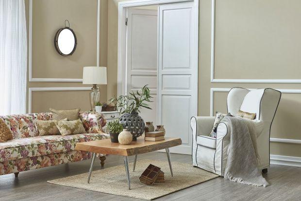 Odpoczynek w salonie zapewni nie tylko wygodna kanapa i fotel. Dobremu samopoczucie będą też sprzyjać odpowiednio dobrane kolory ścian.Zobaczcie!