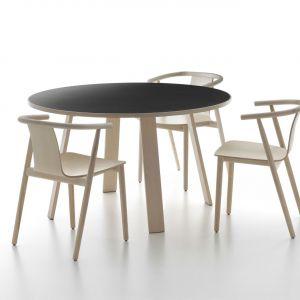 Drewniane krzesło Back - projekt dla marki Cappelini. 2009 rok. Fot. Miro Zagnoli