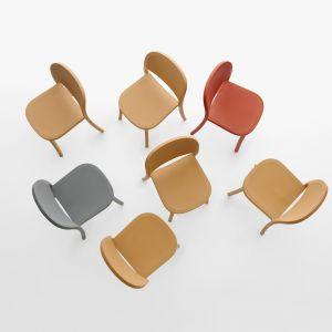 Reclaimed 1 - projekt krzesła z tworzywa dla marki Emeco. 2018 rok. Fot. Miro Zagnoli