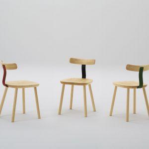 Drewniane krzesło T1 dla japońskiej marki Maruni. Fot. Yoneo Kawabe