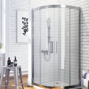 Półokrągła kabina prysznicowa z serii 600. Dostępna w ofercie firmy Excellent. Cena: ok. 1500 zł. Fot. Excellent