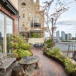 Z tarasu mieszkania rozpościera się fantastyczny widok na East River i Nowy Jork. Zdjęcia: Brown Harris Stevens, www.bhsusa.com. Źródło: TopTenRealEstateDeals.com