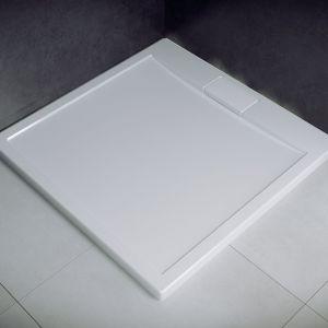 Brodzik prysznicowy akrylowy Axim UltraSlim Besco (bestseller). Fot. Besco