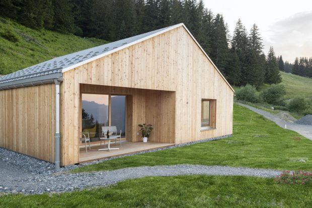 Ekologiczny dom z drewna: ciekawy projekt domu w górach
