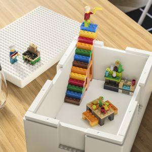 BYGGLEK oferuje rodzinom gamę produktów, które pomagają stworzyć jeszcze więcej przestrzeni do codziennej zabawy. Fot. Ikea