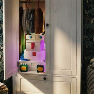 BYGGLEK to więcej niż pojemniki. To połączenie przechowywania z zabawą. Fot. Ikea