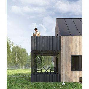 Rozbudowany dom w Sandefjord ma powierzchnię 150 metrów kwadratowych. Autorzy projektu: Paweł Lipiński, Fryderyk Graniczny, Mateusz Frankowski
