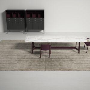 Kolekcja Bamboo Shaded zaskakuje sugestywnym efektem włóczki, potrafiącej uchwycić i sprawić, że stracisz wzrok wśród niezliczonych odcieni.Fot. Carpet Edition Bamboo Shaded BS02