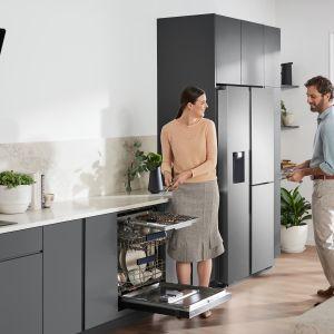 Wybierając np. popularny model BRB260189WW zyskujesz pewność, że zmieścisz tygodniowe zakupy dla całej rodziny. Fot. Samsung
