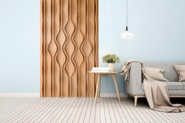 Drewniane panele dekoracyjne to prawdziwy hit aranżacji ostatnich miesięcy. Zobaczcie, jak może wyglądać drewniana ściana! Może to pomysł na wasz nowy salon?