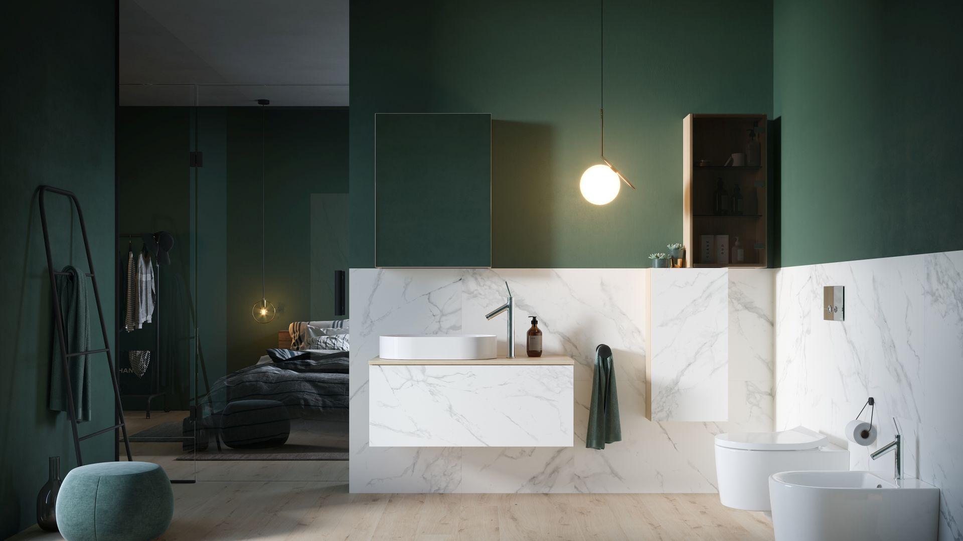 Kolekcja Inverto została stworzona z myślą o tych, dla których elegancki design musi iść w parze z jakością i ergonomią. Fot. Cersanit