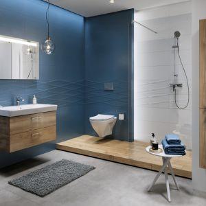 Design armatury łazienkowej Mille bez wątpienia pasuje do nowoczesnego stylu i wpisze się w gusta nawet najbardziej wymagających konsumentów. Fot. Cersanit