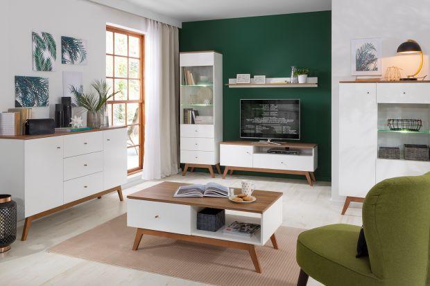 Jakie meble wybrać do nowoczesnego, jasnego salonu? Białe czy w kolorze drewna? Zobaczcie piękne kolekcje mebli dostępne w polskich sklepach. Do każdego salonu i na każdą kieszeń!