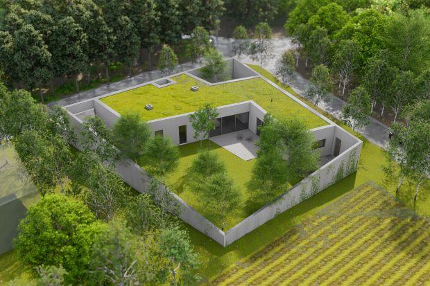 Jak zaprojektować funkcjonalny dom przy ruchliwym skrzyżowaniu? Jak oddzielić go od wiążącego się z lokalizacją hałasu? Z tym zadaniem świetnie poradzili sobie architekci z pracowni Toprojekt. Zobaczcie ciekawy projekt domu!